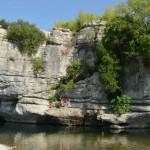 Baignade en riviere